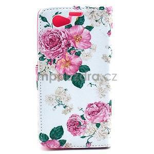 Pouzdro na mobil Sony Xperia Z1 Compact - květiny - 2