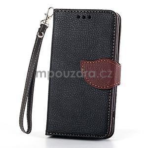 Leaf peněženkové pouzdro na Sony Xperia Z3 Compact - černé - 2