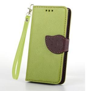 Leaf peněženkové pouzdro na Sony Xperia Z3 Compact - zelené - 2