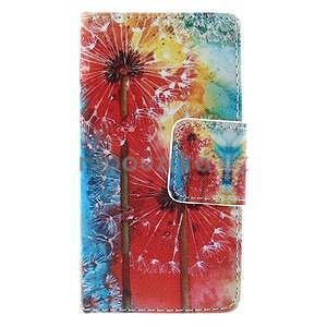 Pouzdro na mobil Sony Xperia Z3 Compact - malované pampelišky - 2