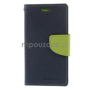Diary peněženkové pouzdro na mobil Sony Xperia Z3 Compact - tmavěmodré - 2