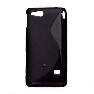 Gelové S-line pouzdro na Sony Xperia Go- černé - 2