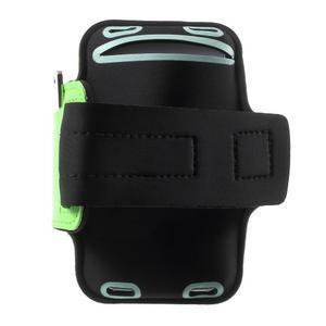 Fittsport pouzdro na ruku pro mobil do rozměrů 143.4 x 70,5 x 6,8 mm - zelené - 2
