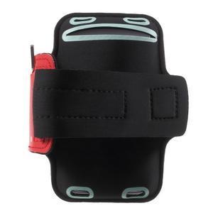 Fittsport pouzdro na ruku pro mobil do rozměrů 143.4 x 70,5 x 6,8 mm - červené - 2