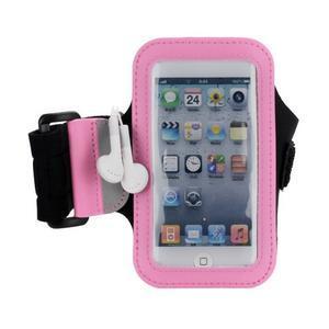 JogyFit sportovní pouzdro na telefon do velikosti 115 x 60 mm - růžové - 2