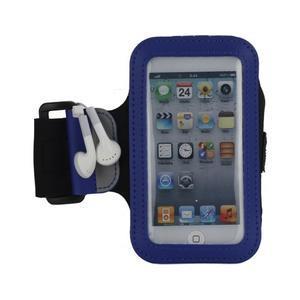 JogyFit sportovní pouzdro na telefon do velikosti 115 x 60 mm - modré - 2