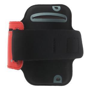 Jogy běžecké pouzdro na mobil do 125 x 60 mm - červené - 2