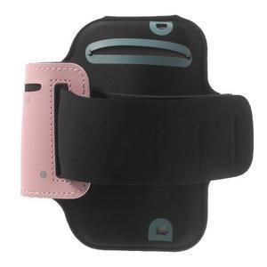Jogy běžecké pouzdro na mobil do 125 x 60 mm - růžové - 2