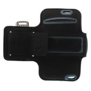 Gymfit sportovní pouzdro pro telefon do 125 x 60 mm - zelené - 2