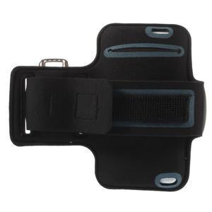 Gymfit sportovní pouzdro pro telefon do 125 x 60 mm - světle modré - 2