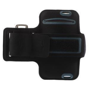 Gymfit sportovní pouzdro pro telefon do 125 x 60 mm - fialové - 2