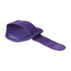 Fitness sportovní pouzdro na mobil (140 x 75 mm) - fialové - 2