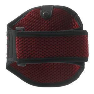 Absorb sportovní pouzdro na telefon do velikosti 125 x 60 mm - červené - 2