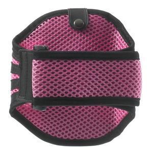 Absorb sportovní pouzdro na telefon do velikosti 125 x 60 mm - růžové - 2