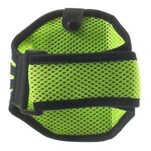 Absorb sportovní pouzdro na telefon do velikosti 125 x 60 mm - zelené - 2