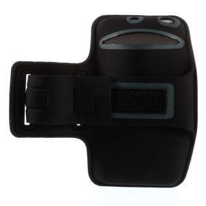 Běžecké pouzdro na ruku pro mobil do velikosti 152 x 80 mm - šedé - 2