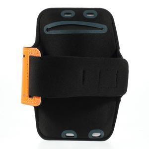 Soft pouzdro na mobil vhodné pro telefony do 160 x 85 mm - žluté - 2