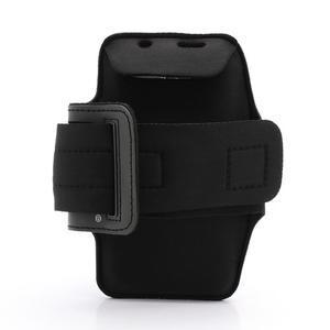 Sportovní pouzdro na ruku až do velikosti mobilu 140 x 70 mm - černé - 2