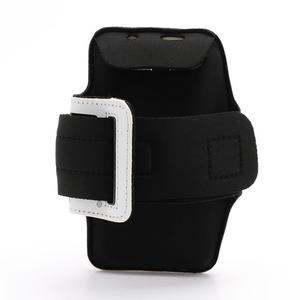 Sportovní pouzdro na ruku až do velikosti mobilu 140 x 70 mm - bílé - 2