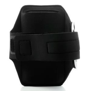 Sports Gym pouzdo na ruku pro velikost mobilu až 140 x 70 mm - černé - 2