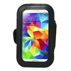 FitGym pouzdro na ruku pro telefon až do velikosti 145 x 73 mm - černé - 2