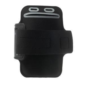 Fitsport pouzdro na ruku pro mobil do velikosti až 145 x 73 mm - černé - 2
