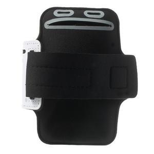Fitsport pouzdro na ruku pro mobil do velikosti až 145 x 73 mm - bílé - 2