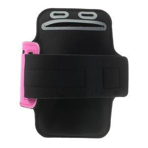 Fitsport pouzdro na ruku pro mobil do velikosti až 145 x 73 mm - rose - 2