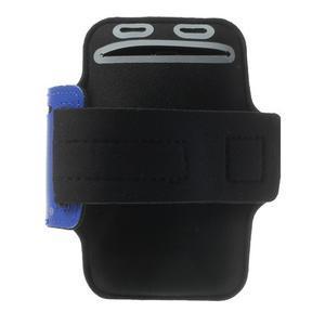 Fitsport pouzdro na ruku pro mobil do velikosti až 145 x 73 mm - tmavěmodré - 2