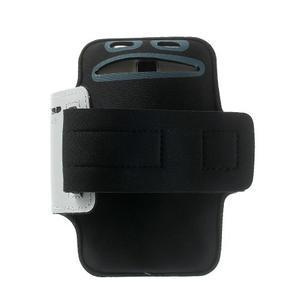 Fitsport pouzdro na ruku pro mobil do velikosti až 145 x 73 mm - šedé - 2