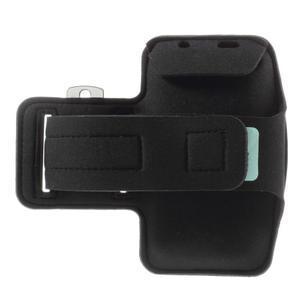Run běžecké pouzdro na mobil do velikosti 131 x 65 mm - černé - 2