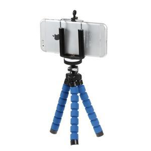 Trojnožkový stativ pro mobilní telefony - modrý - 2