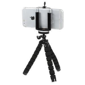 Trojnožkový stativ pro mobilní telefony - černý - 2