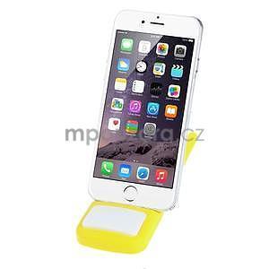 Tvarovatelný stojánek na mobil, žlutý - 2