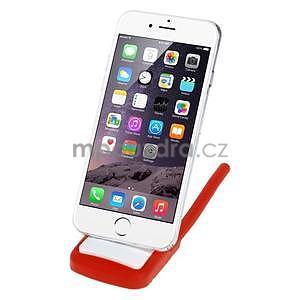 Tvarovatelný stojánek na mobil, červený - 2