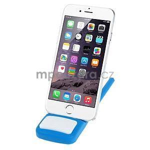 Tvarovatelný stojánek na mobil, modrý - 2
