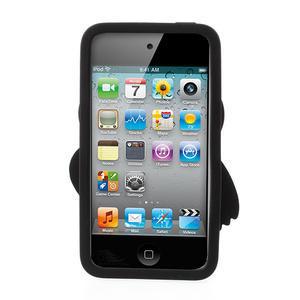 Silikonové pouzdro na iPod Touch 4 - hnědá sova - 2