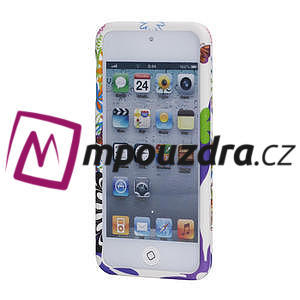 Plastové pouzdro na iPod Touch 5 - květy - 2