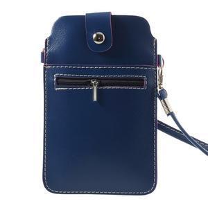 Univerzální pouzdro/kapsička na mobil do rozměru 180 x 110 mm - modré - 2