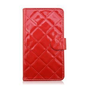Luxury univerzální pouzdro na mobil do 148 x 76 x 21 mm - červené - 2