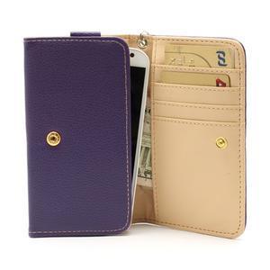 Softy univerzální pouzdro na mobil do 137 × 71 × 8,6 mm - fialové - 2