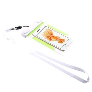 Nox7 vodotěsný obal na mobil do rozměru 16.5 x 9.5 cm - zelený - 2