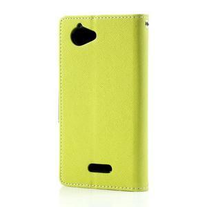 Mr. Fancy peněženkové pouzdro pro Sony Xperia L - zelené - 2