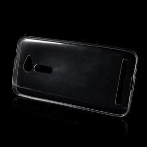 Ultra tenký slim gelový obal na Asus Zenfone 2 ZE500CL - transparentní - 2