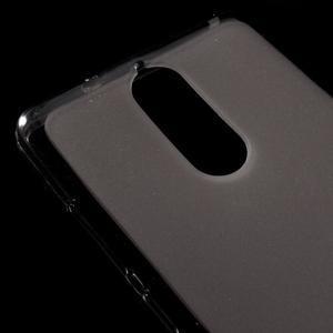 Matný gelový obal na mobil Lenovo K5 Note - šedý - 3