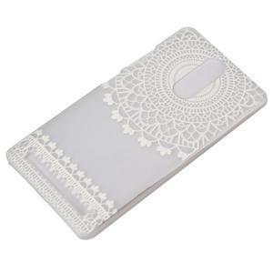 Plastový obal na mobil Lenovo K5 Note - krajky - 3