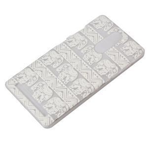 Plastový obal na mobil Lenovo K5 Note - sloni - 3