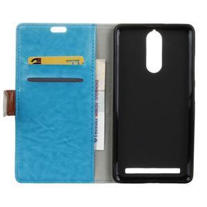 Colory knížkové pouzdro na Lenovo K5 Note - modré - 3
