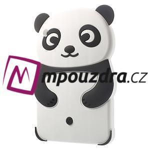 3D Silikonové pouzdro na iPad mini 2 - černá panda - 3