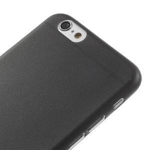 Ultra slim 0.3 mm plastové pouzdro na iPhone 6, 4.7  - černé - 3